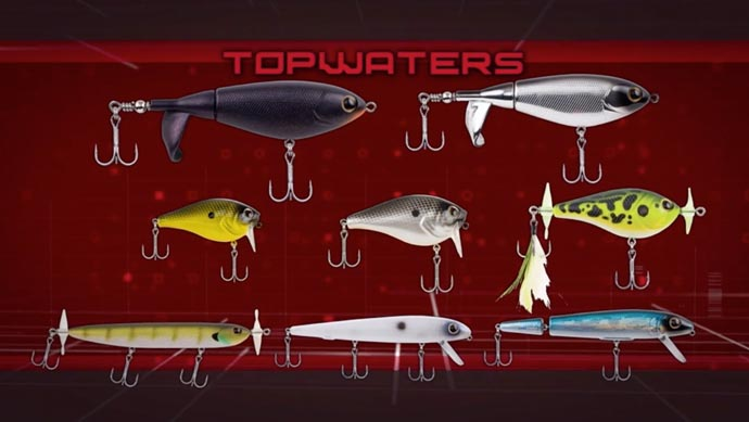 Topwaters