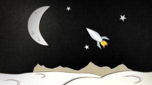 Moon-Rocket